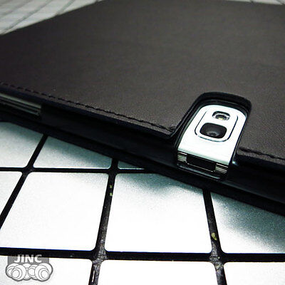 Genuine Cow Leather Book Case Cover for Samsung SM-T520 Galaxy Tab Pro 10.1
