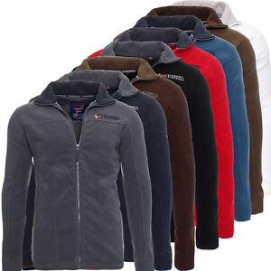 Image is loading Geographical-Norway-Texas-Mens-Winter-Fleece-Jacket-Hoodie- a9c07daf31