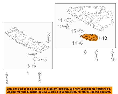 MAZDA OEM 13-15 CX-5 Radiator Core Support-Access Panel KD5356071