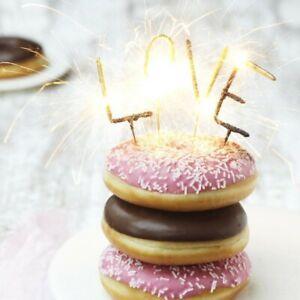 Wunderkerzen-Set für Tortendeko zum 90 Geburtstag Geburtstagskuchen-Dekoration