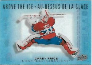 2015-16-Upper-Deck-Tim-Hortons-ABOVE-THE-ICE-Carey-Price-AI-CP