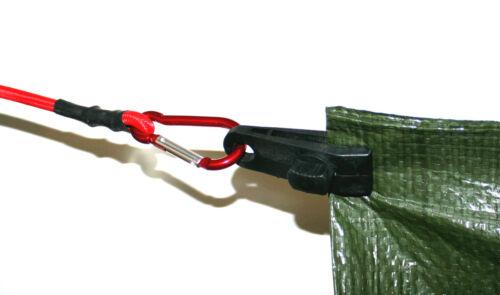 Clip 16 Stück Spanner Planenclips Planenclip Plane Planenhalter Gewebeplane 466