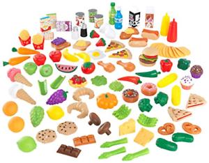 Kidkraft Tasty Treats Play Food Set 115 Pieces Ebay