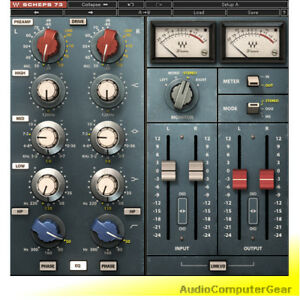 Waves-SCHEPS-73-Neve-1073-EQ-and-Preamp-Audio-Software-Plug-in-NEW