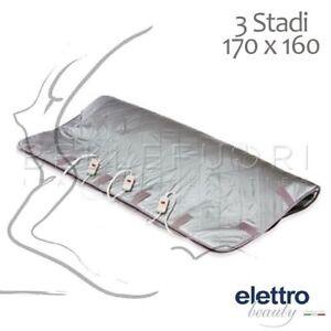 Termocoperte Professionali Per Estetica.Dettagli Su Termocoperta Professionale 3 Stadi 170x160cm Elettrobeauty Coperta Estetista