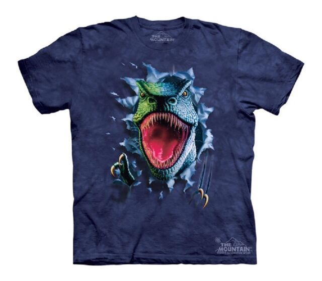 T-Rex Big Skull Kids T-Shirt from The Mountain Dinosaurs Youth Child Sizes NEW