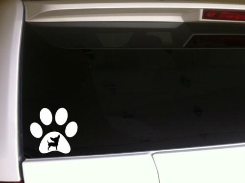 "Paw Print Chihuahua window sticker Car Decal 6/"" *G27 pets animals puppies dog"