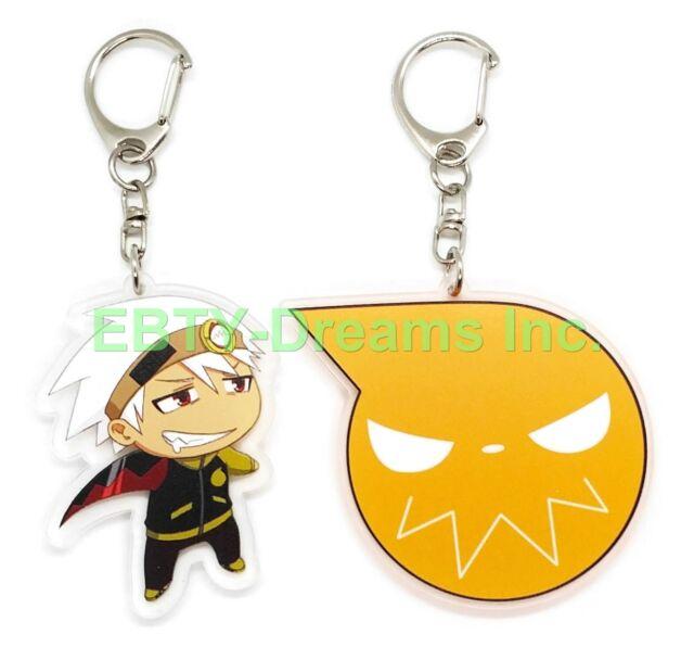 Twice Set of 2 My Hero Academia Boku Anime Acrylic Keychain Tomura Shigaraki