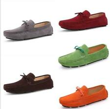 AUSLAND Mens Suede Leather Moccasin Slip-on Loafers 1181