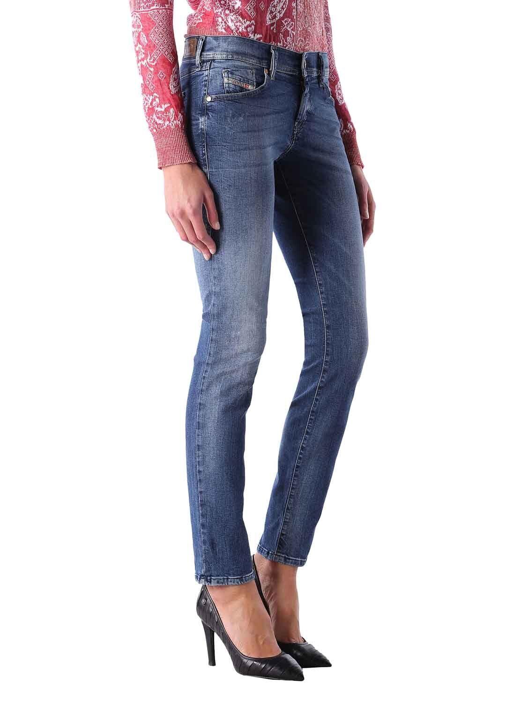 Diesel Jeans women Grupee-Ne 0674Z Jeans da Jogging Sportivo