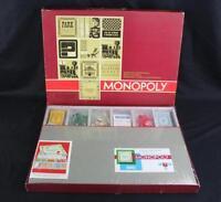 Vintage 1964 Parker Brothers Monopoly Board Game - Still & Factory Sealed