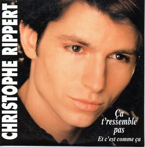 CD-SINGLE-Christophe-RIPPERT-Ca-t-039-ressemble-pas-2-Track-CARD-SLEEVE