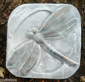 Plastic garden mold mould stepping stone hummingbird mold concrete mold plaster
