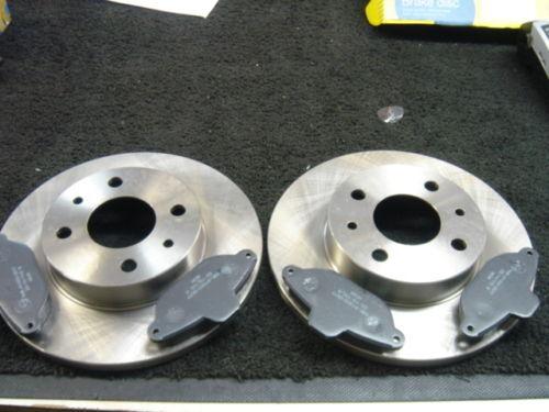 FIAT Punto Disques de freins plaquettes de Frein Mk1 55 60 75