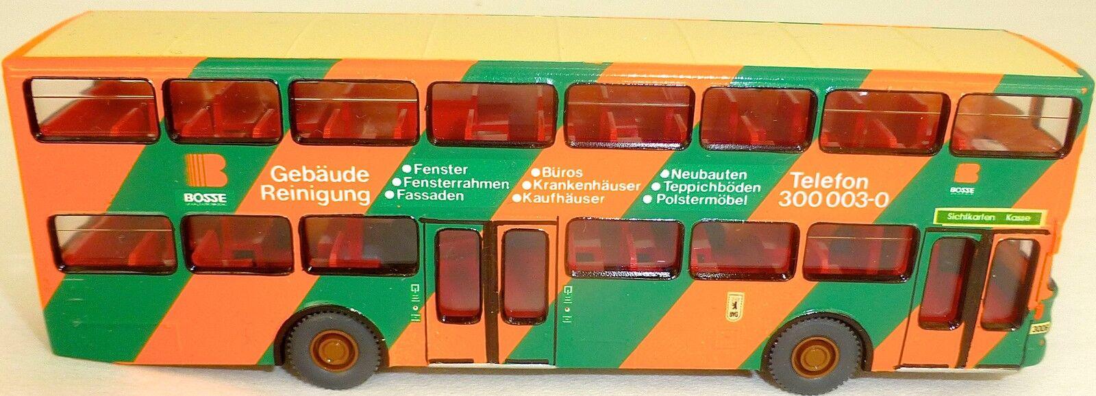 Patrons 19e werbebus on SD 200 gesupert de WIKING BUS h0 1 87 bf37 å