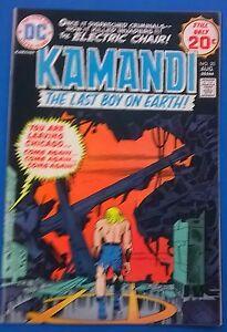KAMANDI-20-1974-DC-Comics-Jack-Kirby-FINE