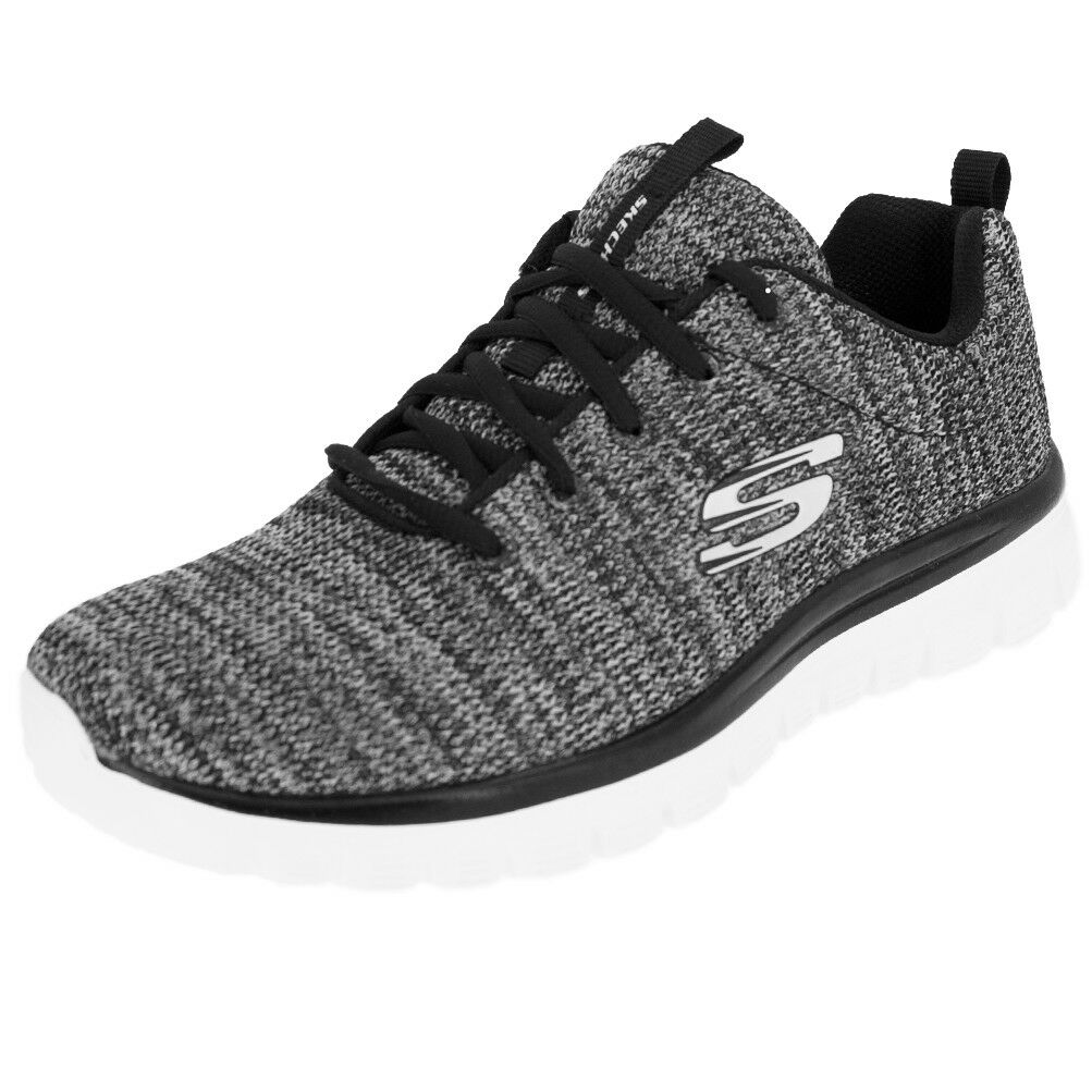 Chaussures Skechers Graceful -Twisted Fortune 12614-BKW noir