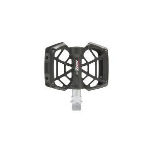 "Tioga DAZZ Lite Pedals Black 9//16/"" Plastic Platform"
