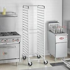 Sheet Pan Rack 20 Pan End Load Bun Commercial Dough Baking Pizza Bakers Speed