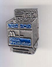 RARE PINS PIN'S .. MC DONALD'S RESTAURANT FRITEUSE USA PILCO FRIALATOR 3D ARG~15