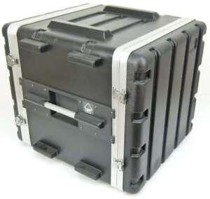 "Kunststoffrack Case 10HE 19"" Flightcase Hartschalenrac<wbr/>k Effektrack ABS ROADINGER"