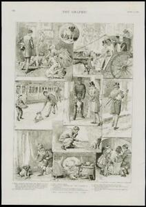 1889-Antique-Print-ILLUSTRATED-STORY-ADVENTURES-OF-JIM-THE-DOG-124