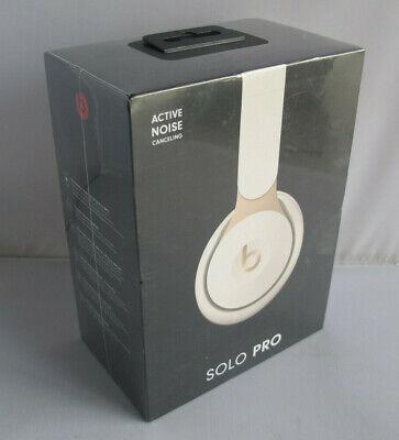 Beats By Dr Dre Solo Pro Wireless Noise Canceling Headphones Ivory Mrj72ll A 190198723369 Ebay