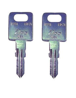 FIC Fastec RV Motorhome Travel Trailer Key Cut to Your Code CF EF HF301-351