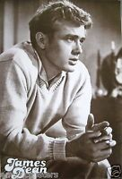 James Dean black & White Profile Shot Wearing V-neck Sweater Poster From Asia