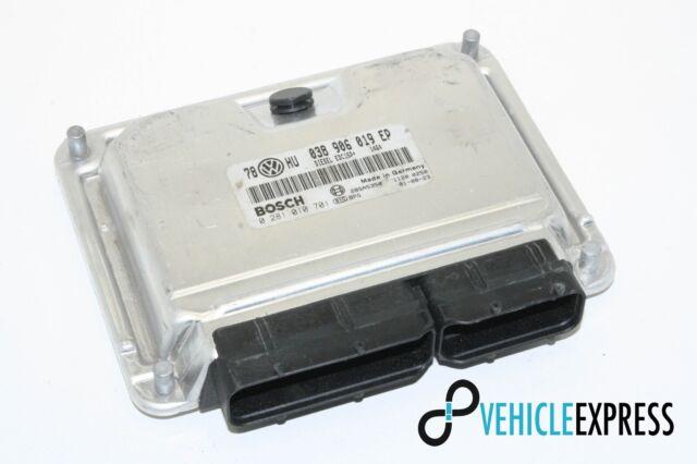Volkswagen Motorsteuergerät 038906019EP/0281010701