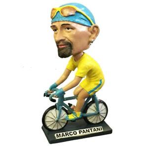 STATUETTA CARICATURA GONGOLO IN RESINA h 22cm - Il Ciclista Marco Pantani