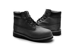 Timberland-Kid-boots-6-034-inch-premium-9570R-Black-Grey-suede-Waterproof