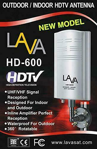 LAVA Outdoor TV Antenna Support 4K 1080P Digital HDTV VHF UHF Freeview with A.... Available Now for 37.25