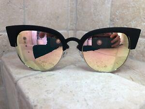 Quay-Australia-Sunglasses-Women-039-s-Avalon-Black-Pink-NWT-Incl-Soft-Case