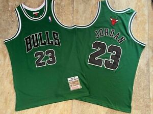 23# Michael Jordan Chicago Bulls 97-98 Hardwood Classics Swingman ...