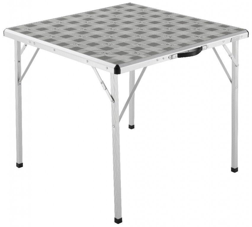 COLEMAN campeggio tavolo 80x80cm in alluminio Tavolo pieghevole Tavolo Quadrato Modello 2016