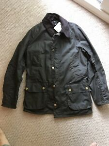 399-Barbour-for-JCrew-Sylkoil-Ashby-Jacket-S-Olive-Waxed-Cotton