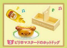 Re-Ment Miniature Sanrio San X Rilakkuma Breakfast Hamburger Set # 3