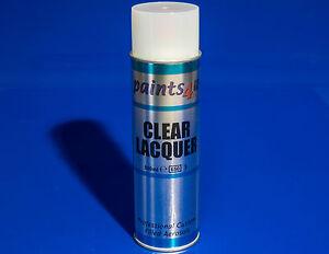 Paints4u Clear Lacquer Aerosol 500ml. Automotive Varnish. Car Paint. Top Coat.