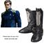 Star Trek Beyond Captain Kirk Cosplay Adult Men Superhero Halloween Shoes Boots