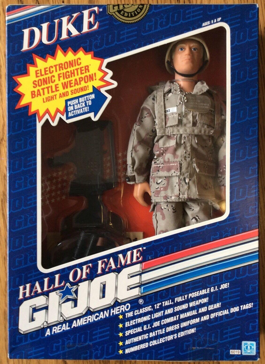 Hasbro Production Sample G.I. Joe Hall of Fame Duke - PROTOTYPE