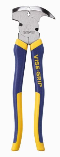 IRWIN 2078901 VISE-GRIP FENCING PLIERS W//PRO TOUCH 10 1//4 INCH