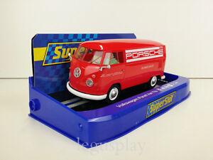 Slot-Scalextric-Superslot-H3755-Volkswagen-Panel-Van-T1b-Porsche-Racing-Service
