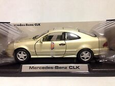 2002 Mercedes Benz CLK, Collectibles 1:18 Scale, Diecast MotorMax Toys, Beige
