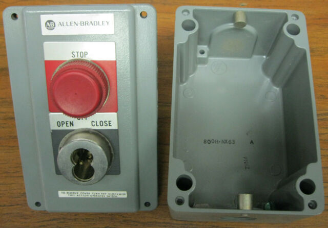 Allen Bradley 800h-nx63 Security Push Button Station