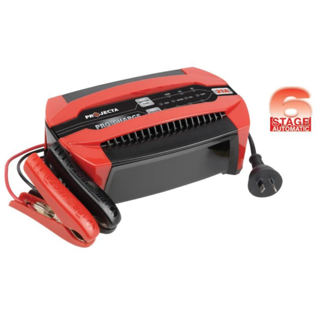 Projecta Pro-Charge Automatic 12V 21A 6 Stage Battery Charger - PC2100