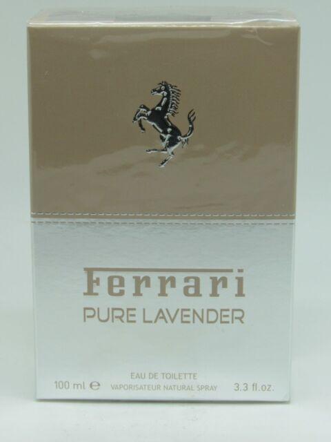 Ferrari Pure Lavender Eau De Toilette 100ml Unisex Spray For Sale Online Ebay