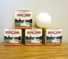 Exploding Golf Ball Four Pack by Cloud Flite 796793619658