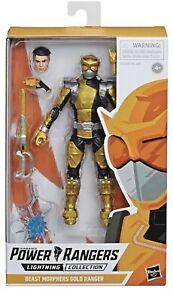 Power-Rangers-Beast-Morphers-Gold-Ranger-6-034-Action-Figure-Lightning-Collection