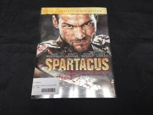 SPARTACUS BLOOD AND SAND TV Series Complete Season 1 DVD ...